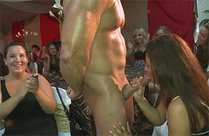 Servicio strippers desnudo