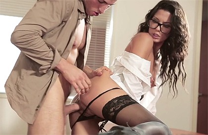 Secretarias teniendo videos de sexo