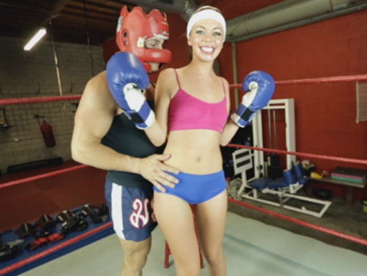 Boxe Ring Topless Female Porn 117