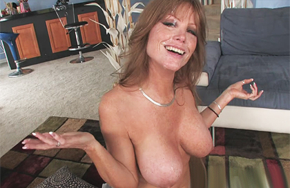 Beautiful busty MILF anally fucked by a big cock - taxi69.com
