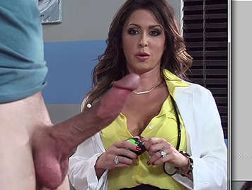 kinky sex in the office of Dr.