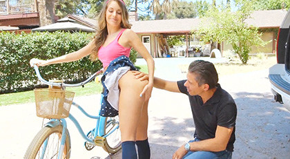 Kimmy Granger in Bikes and Buttplugs