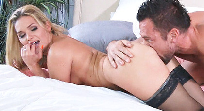 Abby Cross Bed Workout
