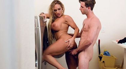 Time to do the laundry with your stepmother Tegan James