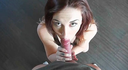 Kat Monroe blowjob and penetrated doggy style
