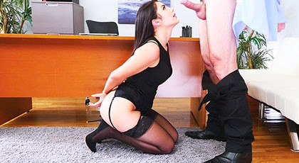 Valentina Nappi, the secretary you want to fuck in the ass
