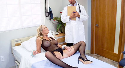 Doctor want his fat cock in my mature pussy