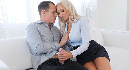 The pleasure of fucking with a mature woman with experience