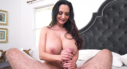 Sex with my mature neighbor and her huge tits at Christmas