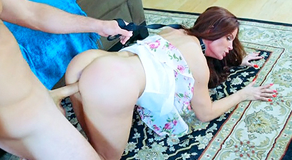 My mature neighbor loves anal sex