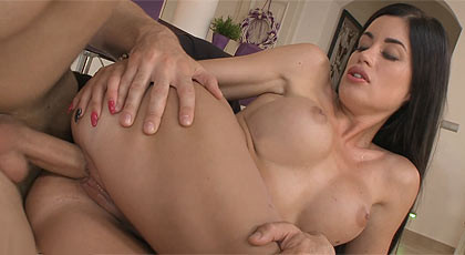 Denise\'s boobs.