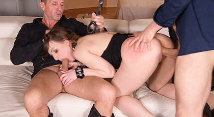 Secretary giving porn hard
