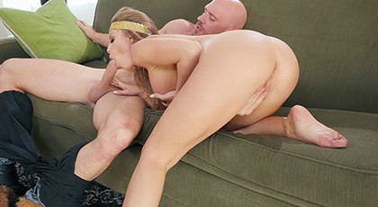 Blonde likes to fuck hard