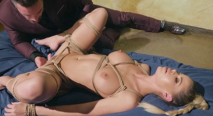 Blonde loves to be dominated in sex