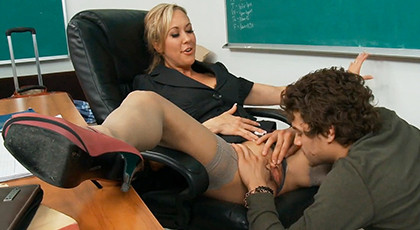 Porn secret with her teacher