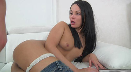 Anal sex with girl in jeans