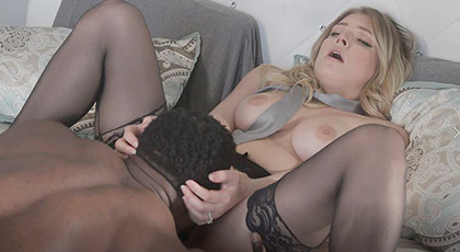 Married cheating fucks with black man