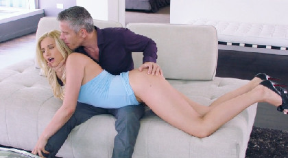 Stepdaughter punished fucking in the ass