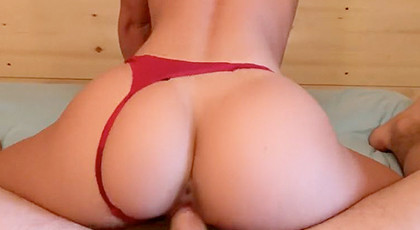 Porn videos, wife in thong