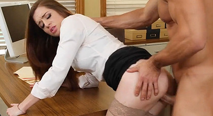 My first fuck with my secretary