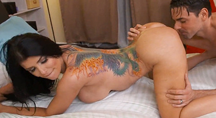 Tattooed Milf Addicted To Sex
