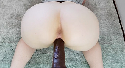 Amateur videos, single with big ass and dildo