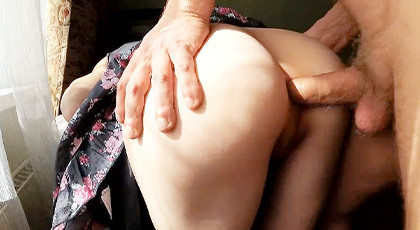 Amateur videos, first through the pussy and then the ass