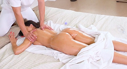 A massage with a great fuck