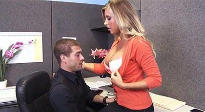 Fucking her boss