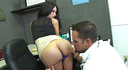 Office smelling sex
