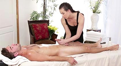 You won't forget this massage