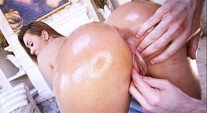 The ass of Klara Gold...