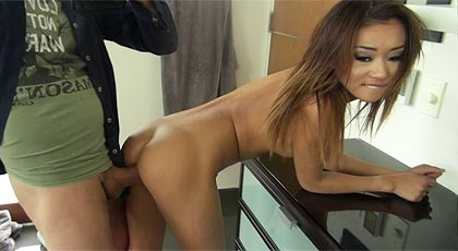Asian wants anal