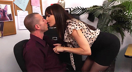 Dana DeArmond is a horny secretary