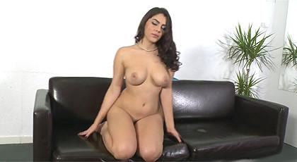 Valentina Nappi in a porn casting