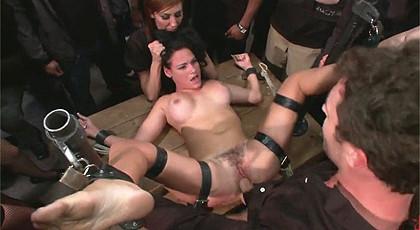 Public hard sex