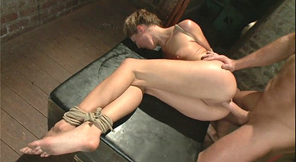 Sex and submission with hot blonde
