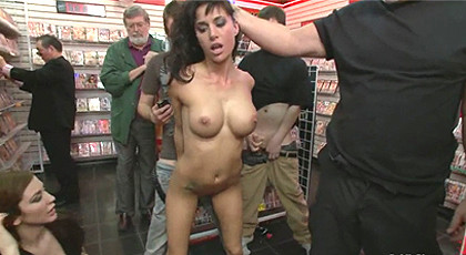 Gia de Marco is fucked & humilliated in public