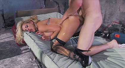 Cherri Deville wild sex in the infirmary