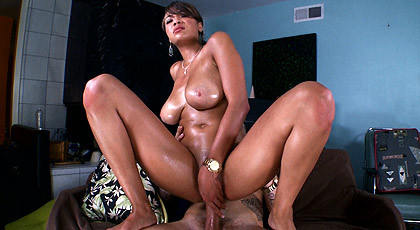 Banks Cassidy with her pussy full of sperm