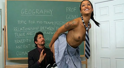 Very nasty and vicious fucking nympho schoolgirl in class with their teacher that fucks with his big cock to get cum in your mouth sweet pupil more bitch