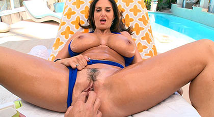 Deep anal sex with a busty mature giving pleasure to her lover have a big cock and he cums over her ass