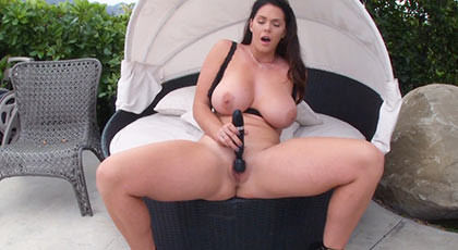 Chubby busty girl loves hard dicks embedded in her asshole