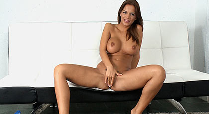 Black Angelika says - Fuck my pussy, it\'s all yours, fuck me hard until I get cum