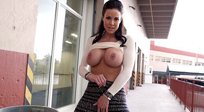 Assed milf with great tits to be fucked and covered with jets of hot cum