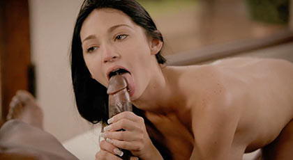 Crystal Rae arrives and does so with an interracial porn video with sticky creampie