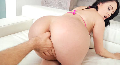 A pleasant and tight anal to welcome back to the assed Kristina Rose
