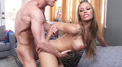 Nicole Aniston, the best friend of his wife is a slut who does not respect any friends when it comes to sex