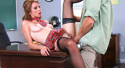 Cece Capella a repeater student obsessed with his cock mature professor