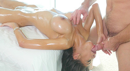 Shay Evans massages always result in rampant sexual perversion